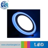 16W Dimmable runde doppelte Panel-Beleuchtungen der Farben-LED