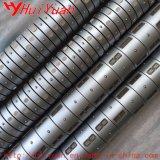 Rajar los ejes de aire diferenciados del papel de aluminio