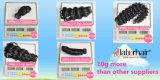 Indisches lockiges unverarbeitetes Jungfrau-Haar für Einzelhändler (Grad 9A)
