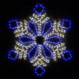 [لد] حبل ضوء عيد ميلاد المسيح زخرفة كسفة ثلجيّة الحافز ضوء