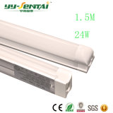 최신 판매 1.5m 24W T8 LED 형광등 빛