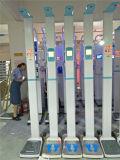 إرتفاع يقيس حامل قفص مع يزن مقياس وزن وإرتفاع مقياس آلة
