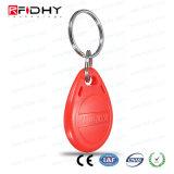 Indicateur de clé Keyfob d'IDENTIFICATION RF de l'ABS F08 réinscriptible pour le contrôle d'accès
