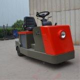 veículo elétrico dos tratores do reboque do aeroporto 3000kg/fábrica com EUA Curtis