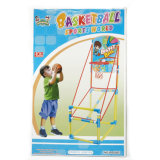 Los soportes del baloncesto del lanzamiento del juguete del deporte y el juego del aro fijaron para los niños
