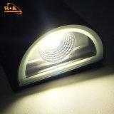 Resistente al agua de alta potencia 12W LED Lámpara de pared exterior de aluminio