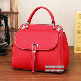 Esportazione di prezzi di fabbrica della borsa dello stilista della borsa delle signore del cuoio genuino da Guangzhou Emg5309
