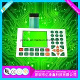Interruttore di membrana del comitato di tocco della gomma di silicone con per il calcolatore utilizzato