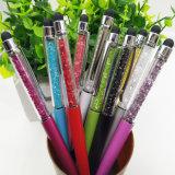 Crayon lecteur créateur en cristal de stylo bille de 20 couleurs pour l'école de bureau d'écriture