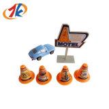 Barrage routier en plastique de jouet et de plastique de véhicule de la vente 2017 chaude mini pour des gosses