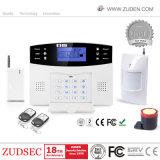 Het draadloze GSM van het Huis Systeem van het Alarm met LCD vertoning