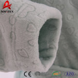 Nueva albornoz grabada 3D del paño grueso y suave de la franela del diseño para las mujeres