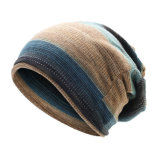 Men's Baggy solide long hiver Beanie Hat tricot épais PAC