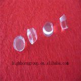 Kleine transparenter Quarz-Platte