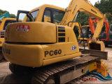 사용하는 간접 Komatsu PC60 크롤러 굴착기 Komatsu (PC35 PC55 PC78 PC120 PC128 PC130) 굴착기 건축기계 고유 일본