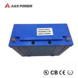 Batterie solaire 40ah de réverbère de l'ion 12V 18650 de lithium avec le contrôleur léger