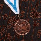締縄が付いているカスタマイズされたロゴメダルマラソンメダル