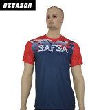 Polyester-Sport Dri passendes Sublimation-T-Shirt 100% (T002)