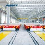 Stahlgießerei Using Transporteinrichtungen auf Gleisen