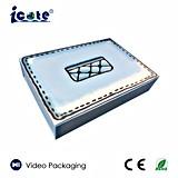 LCDのCe&RoHSの工場価格のビデオグリーティングボックス