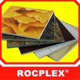 Panneau de bordage décoratif de PVC de PVC de PVC de panneau