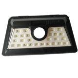 Belastetes im Freien LED Wand-Solarlicht des Bewegungs-Fühler-