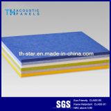 Suspendu polyester fibres minérales Panneau acoustique les dalles de plafond