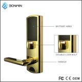 Le métal magnétique de la carte de clé de carte RFID de serrure de porte de l'hôtel