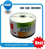 Fabricante High-Capacity China DVD vazio do disco DVDR