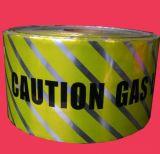 지하 탐지가능한 경고 테이프는 알루미늄 호일 방벽 주의 테이프를 매장했다