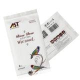 Microfibra toalhas molhadas descartáveis OEM/algodão para o Restaurante Hotel Utilização de avião