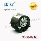 Erikc 9308-621c 9308Z621c 9308621C 28239294 do injector de combustível Common Rail Delphi revestimento preto da válvula de controle 9308 621c para Ejbr03701D