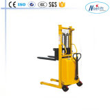 1000kg Semi Electric Stackerprice Manual con poder importante