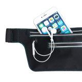 高品質の携帯電話の実行のパックのための多彩なWaistbagtravelのウエスト袋