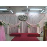 Gemakkelijk installeer Pijp draperen de Decoratie van de Zaal van het Huwelijk van de Achtergrond van de Ceremonie van de Rand van de Tribune