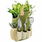 9 das Stück-Garten-Hilfsmittel-Set mit 6 ergonomischen Gartenarbeit-Hilfsmitteln, umfaßt Gräber, Jäter, Rührstange, Trowel, Pruners, Umpflanzer, Gartentote-Beutel und Handschuhe