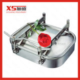 470mm*760mm Outward Stainless Steel Rectangular Manhole Cover with Presses