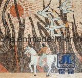 Het populaire Natuurlijke Marmeren Mozaïek van de Kunst voor de Decoratie van het Huis