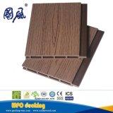 Panel de revestimiento compuesto exterior de la pared de la depresión WPC del grano de madera