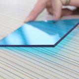 le polycarbonate solide bleu de 6mm Lowes lambrisse le prix Malaisie de feuille de toiture