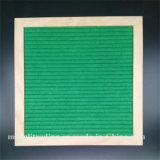 De Zwarte van de Raad van de brief voelde Veranderlijke Witte Plastic Karakters 10 X10 het Vierkante Houten Eiken Frame van de Duim