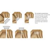Крепежные детали из гофрированного картона сшивателя на автомобилях серии CF