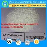 Testosteron Cypionate schnell wirkungsvolles aufbauendes Steroid CAS 58-20-8 für Bodybuilding