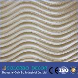 El panel de la tarjeta de la onda del MDF/el panel de pared de la tarjeta de la onda de la chapa 3D
