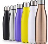 Edelstahl-Wasser-Flaschen-Schwellen-Vakuumflaschen-Arbeitsweg-Sport-Becher-Kolabaum füllt Thermos ab