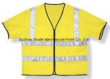 Uve011 100% полиэстер Майка швейной работу костюм рабочий Комбинезон Костюм труда тканью нанесите на светоотражающей одежды