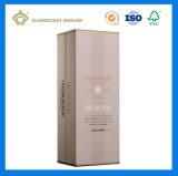 Caixa de empacotamento do vinho rígido luxuoso