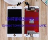 Convertisseur analogique/numérique d'écran LCD de rechange avec le contact 3D pour l'iPhone 6s plus 5.5inch (BLANC)