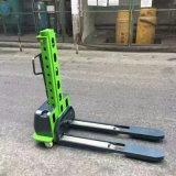 Walkie Apiladora Equipos de manipulación de material de almacén de 500kg de carga propia carretilla elevadora