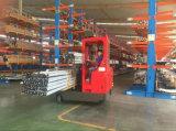 창고 2.5tons 다중 방향 전기 범위 트럭은, 4개의 방향 포크리프트 창고를 위한 공간을 절약했다